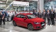 Une demi-million d'A1, c'est la fête chez Audi Brussels !