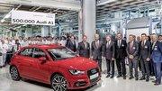 Audi A1 : L'usine de Bruxelles et le Roi de Belgique célèbrent le 500 000 exemplaire de l'A1