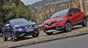 Essai Renault Captur vs Nissan Juke : Stars montantes