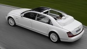 Maybach de retour au salon de Los Angeles via Mercedes