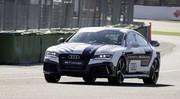 Une Audi RS7 Sportback boucle un tour sans pilote