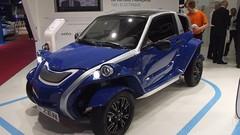 Courb C-Zen, Eon Motors Weez, 4H et Toyota i-Road, les engins légers au Mondial