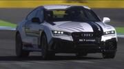 Un concept Audi RS7 totalement autonome poussé à la limite sur circuit !