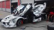 LaFerrari XX : la concurrente de la McLaren P1 GTR bientôt prête