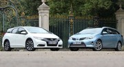 Essai Honda Civic Tourer vs Toyota Auris Touring Sports : Les breaks alternatifs