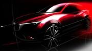 Mazda CX-3 : l'esquisse