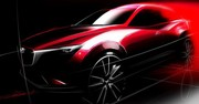 Mazda s'attaque au Nissan Qashqai avec le CX-3