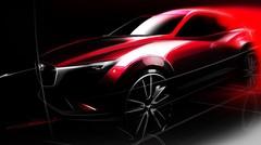 Mazda CX-3 : première photo du futur petit SUV de Mazda