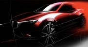 Un nouveau petit SUV chez Mazda : Première image du nouveau Mazda CX-3