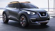 En plus du Juke et du Qashqai, voici un nouveau crossover Nissan, le Kicks