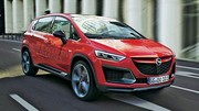 Futurs Opel Zafira et Meriva: métamophosés en SUV!