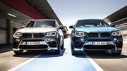 BMW X5 M et X6 M, tenue sportive