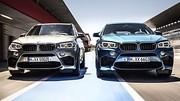 BMW X5 M et X6 M (2015)