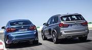 BMW X5 M Et X6 M 2015 : 575 ch pour le duo très hautes performances