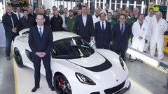 Lotus : 1.000 Exige S produites