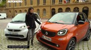 Emission Automoto : Smart Fortwo et Forfour, X6, road trip USA