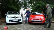 Emission Turbo : Twingo 3 vs Fiat 500, Fortwo et Forfour, NX300h