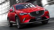 Mazda CX-3 2015 : le rival des Juke, 2008 et Captur révélé à Los Angeles