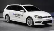Volkswagen Golf SportWagen Hymotion, à hydrogène