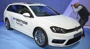 Volkswagen Golf HyMotion Concept 2014: l'hydrogène s'invite sur la compacte