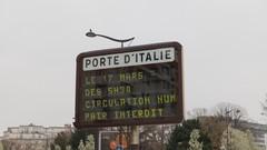 Paris va restreindre l'accès aux véhicules les plus polluants