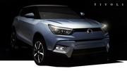 SsangYong Tivoli : premières images du futur SUV urbain coréen