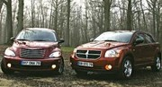 Essai Chrysler PT Cruiser 2.2 CRD / Dodge Caliber 2.0 CRD