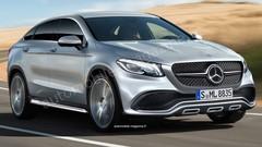 Mercedes GLE Coupé AMG Sport : Double entrée