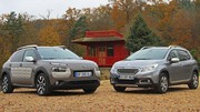 Essai Citroën C4 Cactus vs Peugeot 2008 : Deux crossover chez PSA