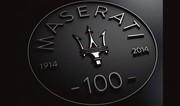 Anniversaire : Maserati a 100 ans !