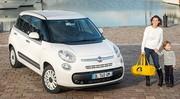 Une Fiat à la sauce marinière : Une série limitée Petit Bateau pour la Fiat 500L