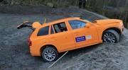 Un Volvo XC90 détruit pour expliquer son nouveau système de sécurité