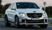 La Mercedes GLE défie la BMW X6