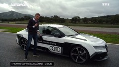 Emission Automoto : Touareg; RS7 homme vs machine
