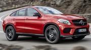 Mercedes-Benz GLE Coupé 2015 : L'imposant SUV à l'étoile