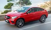 Mercedes GLE Coupé : premières photos officielles