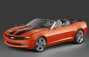 Chevrolet Camaro cabriolet : cruising on the West coast