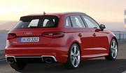 La nouvelle Audi RS3 conserve son 5-cylindres. Ouf !