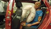 TRW imagine l'airbag du futur