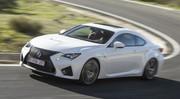 Essai Lexus RC F : les watts, sans les batteries !