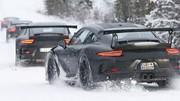 La future Porsche 911 GT3 RS ne se cache plus