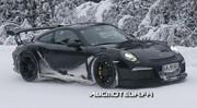 La nouvelle Porsche 911 GT3 RS dans la neige !