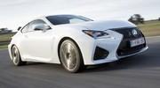 Lexus RC-F : GT façon manga