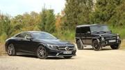 Essai Mercedes Classe S 500 Coupé vs Classe G 63 AMG : Soyons pervers