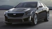 Cadillac CTS-V 2015 : La berline sort ses muscles pour Detroit !