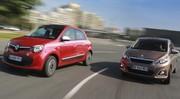 Essai Renault Twingo 1.0 SCe 70 ch Peugeot 108 1.0 VTi 68 : Les souris dansent