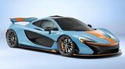 McLaren P1 : un modèle unique aux couleurs de Gulf