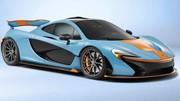 Une McLaren P1 aux couleurs du pétrolier Gulf Oil