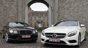 Essai Bentley Continental GT V8 S vs Mercedes S500 Coupé : Crise de la cinquantaine