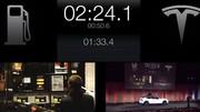 Comment recharger une Tesla Model S en 3 minutes ?